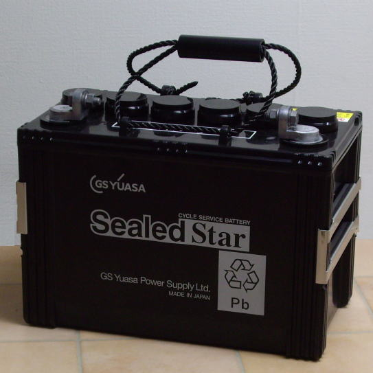 ディープサイクルバッテリー GSユアサ SEB-100(SEB100) 蓄電池 サイクルサービスバッテリー