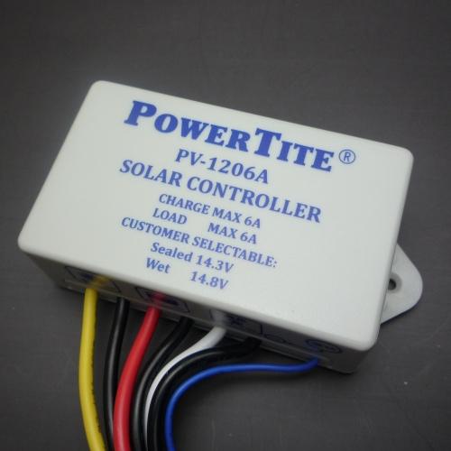 コンパクト設計 6Aまでのソーラーパネルに 未来舎製 チャージコントローラー PV-1206A 新着 6Aまで対応 海外限定 ソーラー発電 独立電源 過充電防止装置 送料含む 太陽光発電用 オフグリッド ソーラー