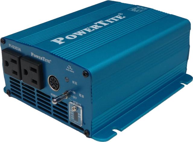 送料無料【送料無料!!】 未来舎 正弦波 DC-ACインバーター FI-S353A直流を交流 100V ( AC100V )に変換 家電製品を使用可能にする機械です。