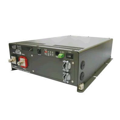 電菱製商用切替リレー正弦波DC-ACインバーターST2500直流を交流 100V ( AC100V )に変換 家電製品を使用可能にする機械です。