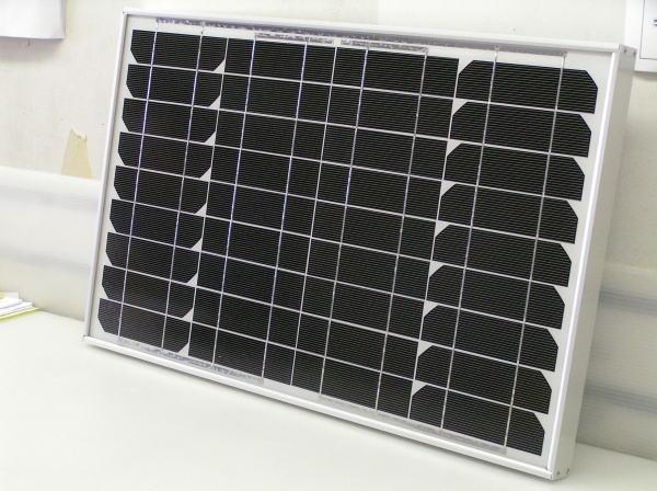 ソーラーパネル GN30 定格出力36Wエヌ・イー・ティ製 太陽電池 独立電源 太陽光発電 太陽光パネル キャンピングカー ヨット クルーザーなどの電源に