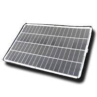 球状Si太陽電池軽量ソーラーモジュール 太陽電池 (58W) フレキシブル 柔軟 球状シリコン 球状 シリコン ソーラーパネル バッテリー充電 持ち運び 独立電源 オフグリッド 緊急時 電源