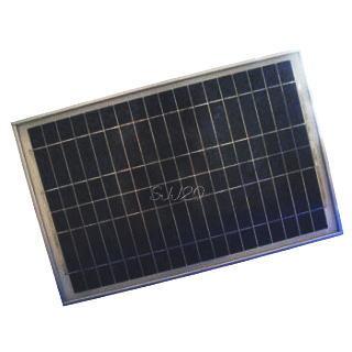 電菱製多結晶ソーラーパネル (太陽電池) DB020-12 定格出力 12W DC12V系太陽電池 太陽光発電 太陽光パネル 独立電源 オフグリッド