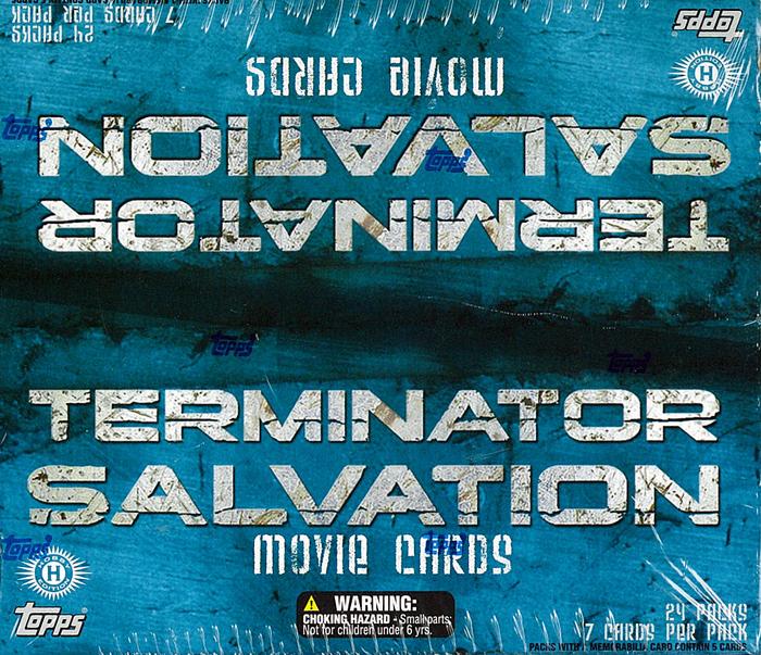ターミネーター4 サルベイション トレーディングカードTARMINATOR 4 SALVATION