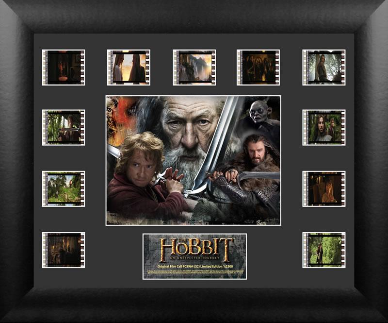 ホビット 思いがけない冒険 フィルムセルThe Hobbit: An Unexpected Journey (S2) FILM CELL Mini Montage USFC5964