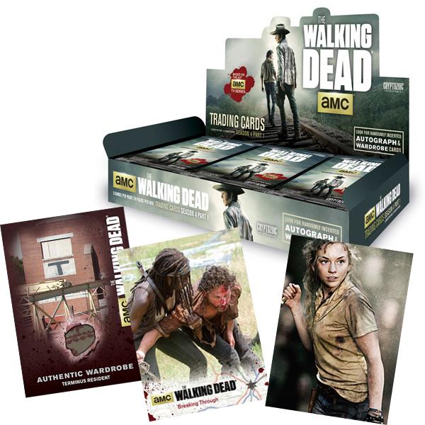 ウォーキング・デッド シーズン4トレーディングカード パート1/ THE WALKING DEAD SEASON 4 TRADING CARDS PART 1