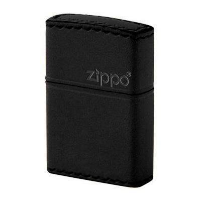ZIPPO B-5 革巻き横ロゴ(カワマキ ヨコロゴ)ブラック
