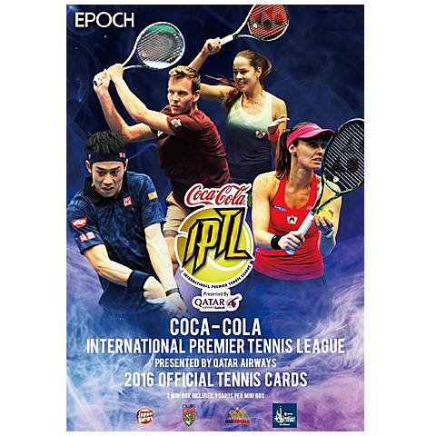EPOCH コカ・コーラ インターナショナル・プレミア・テニス・リーグ 2016 オフィシャルテニスカード[ボックス]