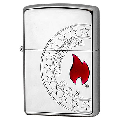 ZIPPO #200 FLAME シルバー/2S-FLAME