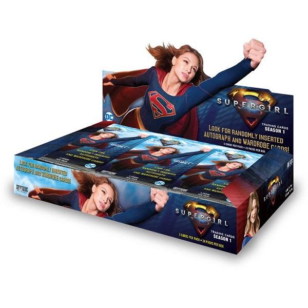 海外ドラマグッズ 正規品送料無料 スーパーガール シーズン1 トレーディングカードSupergirl 大人気 Season Trading 1 Cards