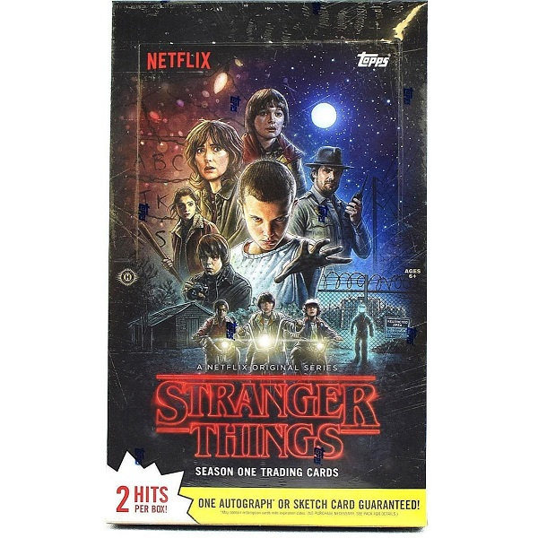 ストレンジャー・シングス 未知の世界 シーズン1 トレーディングカード2018 Topps Stranger Things Season 1 Trading Cards