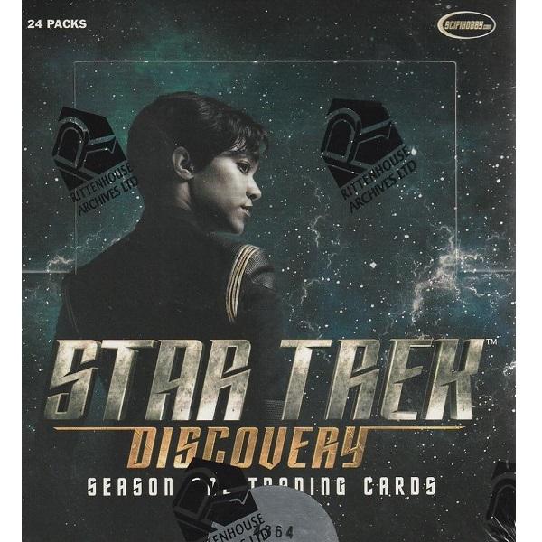 内祝い 海外ドラマグッズ スタートレック 宇宙大作戦 ディスカバリー 海外限定 シーズン1 トレーディングカードRITTENHOUSE 2019 Cards Discovery 1 Season Star Trek Trading