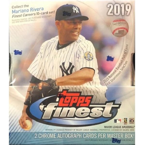 MLB 2019 TOPPS FINEST BASEBALL[ボックス]メジャーリーグ 2019 トップス ファイネスト ベースボール
