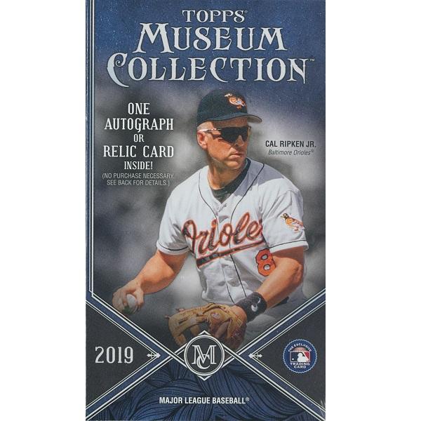 MLB 2019 TOPPS MUSEUM COLLECTION BASEBALL[パック]メジャーリーグ 2019 トップス ミュージアムコレクション ベースボール