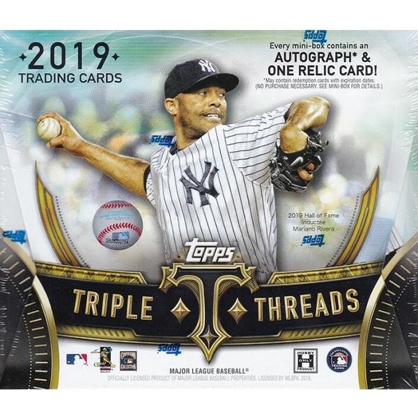 MLB 2019 TOPPS TRIPLE THREADS BASEBALL[ボックス]メジャーリーグ 2019 トップス トリプルスレッズ ベースボール