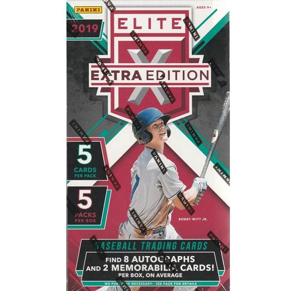 MLB 2019 PANINI ELITE EXTRA EDITION BASEBALL[ボックス]メジャーリーグ 2019 パニーニ エリート エクストラ エディション ベースボール