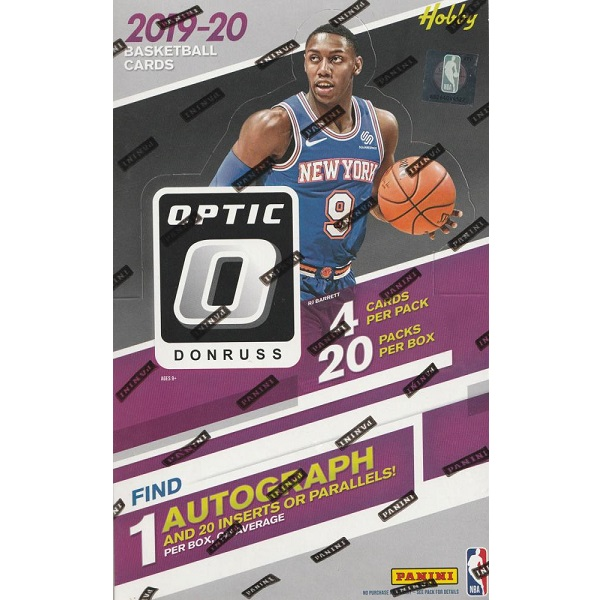 NBA 2019-20 PANINI DONRUSS OPTIC BASKETBALL HOBBY[ボックス]NBA 2019-20 パニーニ ドンラス オプティック バスケットボール ホビー