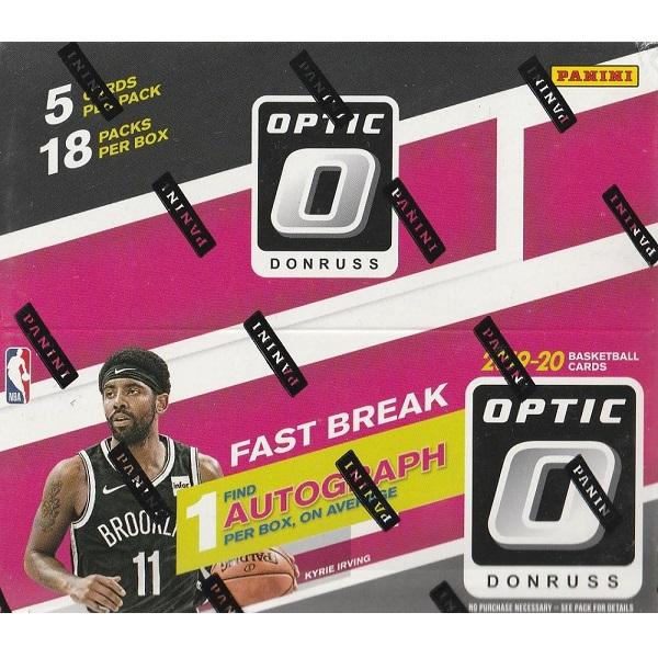 NBA 2019-20 PANINI DONRUSS OPTIC BASKETBALL FAST BREAK[ボックス]NBA 2019-20 パニーニ ドンラス オプティック バスケットボール ファストブレイク