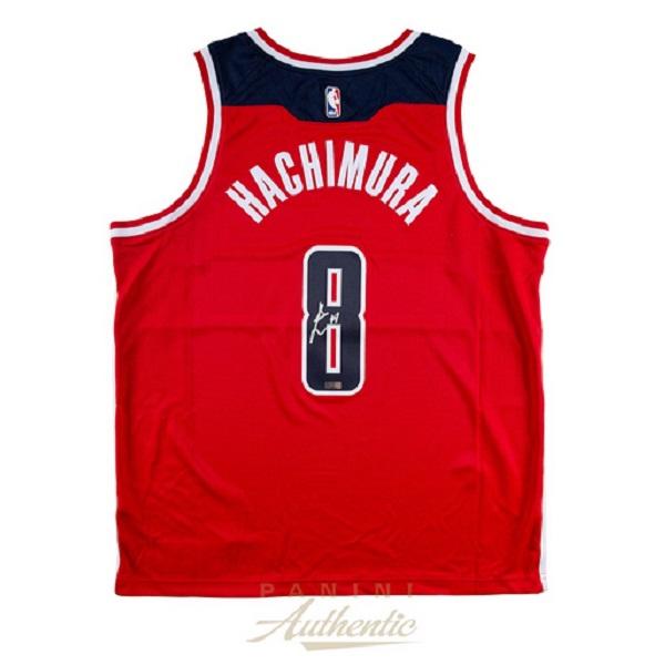 NBA PANINI AUTHENTIC 八村塁 直筆サイン入りジャージー 赤
