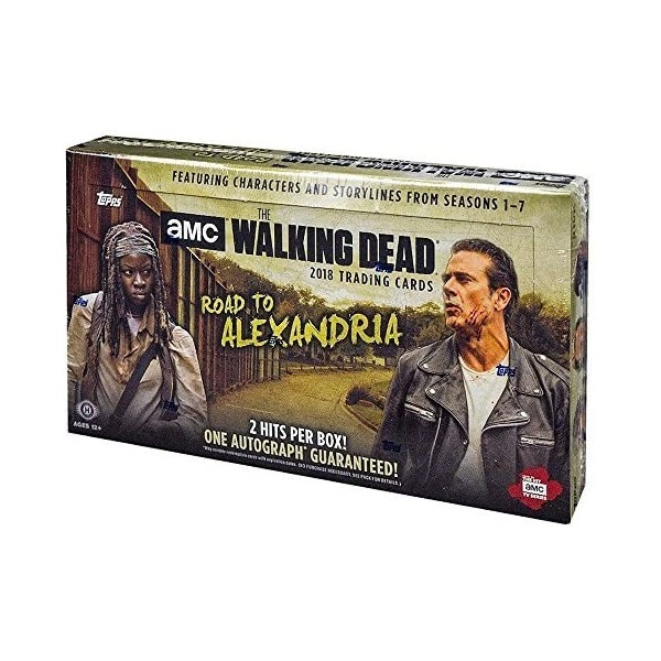 ウォーキング・デッド ロード・トゥ・アレクサンドリア トレーディングカード[ボックス]2018 TOPPS THE WALKING DEAD ROAD TO ALEXANDRIA