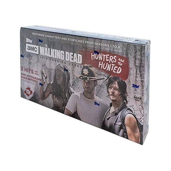 ウォーキング・デッド ハンターズ・アンド・ハンテッド トレーディングカード[ボックス]2018 TOPPS THE WALKING DEAD THE HUNTERS AND THE HUNTED