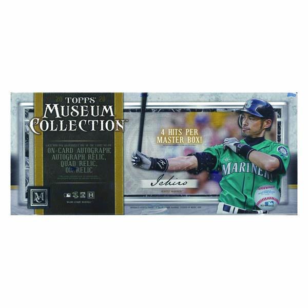 MLB 2020 TOPPS MUSEUM COLLECTION BASEBALL[ボックス]メジャーリーグ 2020 トップス ミュージアムコレクション ベースボール