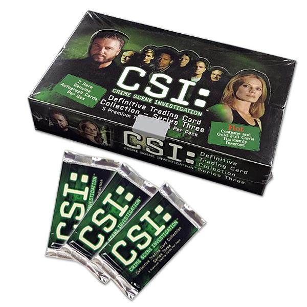 CSI: SERIES 3 トレーディングカード