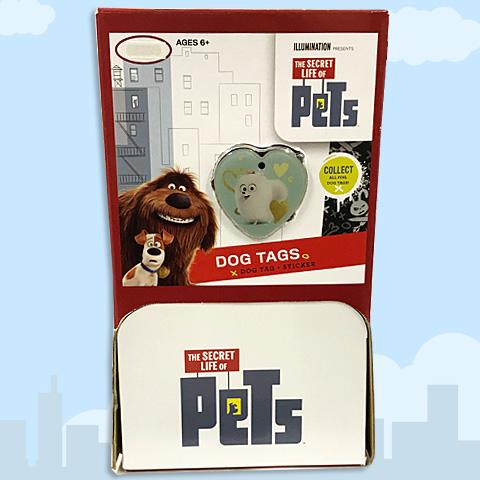 ペット ドッグタグTHE SECRET LIFE OF PETS DOG TAGS