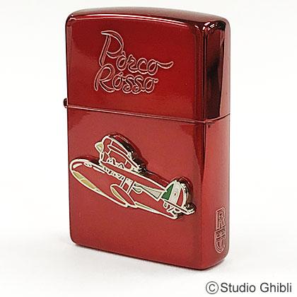 スタジオジブリZIPPO(ジッポー)コレクション 紅の豚 ポルコ(赤)2 NZ-24