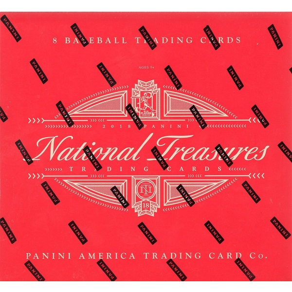 2018 PANINI NATIONAL TREASURES BASEBALLメジャーリーグ 2018 パニーニ ナショナルトレジャー