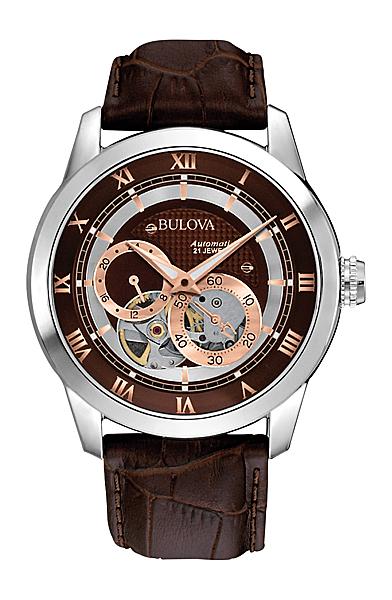 ブローバ オートマチックBULOVA AUTOMATIC96A120正規品 機械式(自動巻き) 腕時計