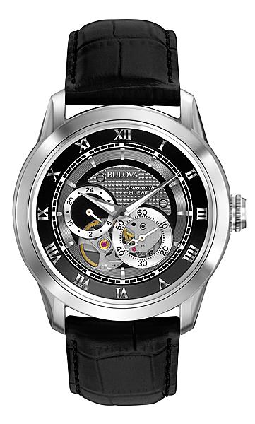 ブローバ オートマチックBULOVA AUTOMATIC II96A135正規品 機械式(自動巻き) 腕時計