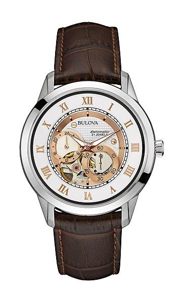 ブローバ オートマチックBULOVA AUTOMATIC96A172正規品 機械式(自動巻き) 腕時計