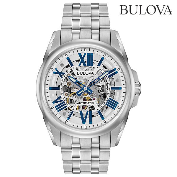 ブローバ オートマチックBULOVA AUTOMATIC96A187正規品 機械式(自動巻き) 腕時計