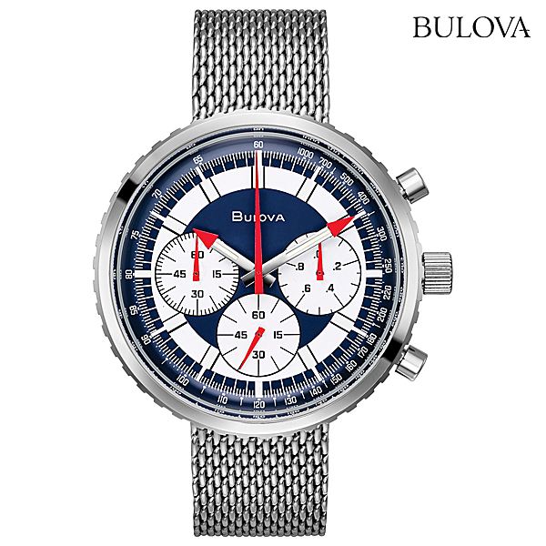 BULOVA ブローバ アーカイブコレクションクロノグラフC96K101正規品 腕時計