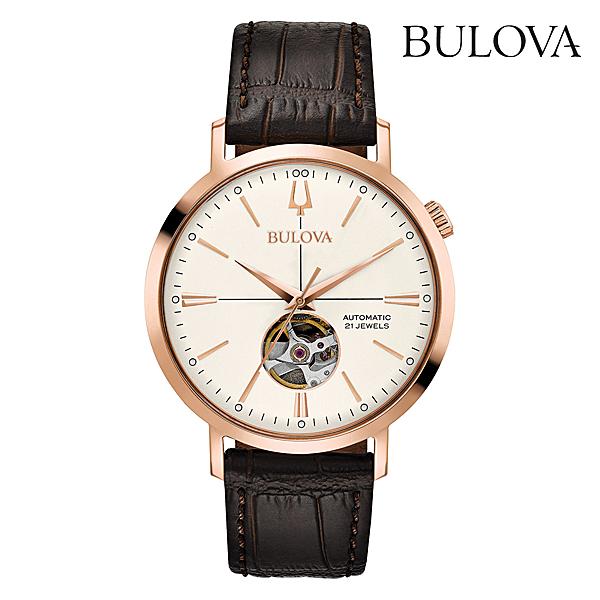 ブローバ エアロジェット・オートマチックBULOVA AEROJET AUTOMATIC97A136正規品 腕時計