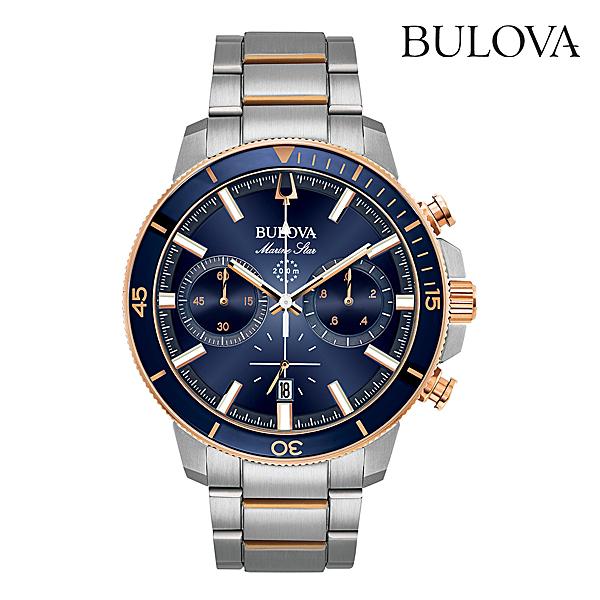 ブローバ マリンスターBULOVA MARINE STAR98B301正規品 腕時計