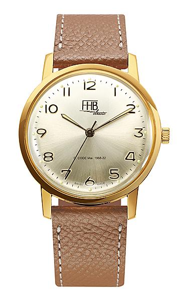 FHB エフエッチビーF908YG-CAM正規品 腕時計
