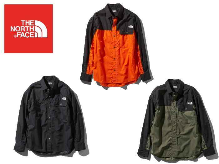 THE NORTH FACE 奉呈 ザノースフェイス L S Shirt 正規品 ユニセックス 安い ロングスリーブヌプシシャツ Nuptse NR11961