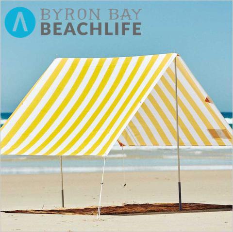 【直輸入品】オーストラリアのブランド BYRON BAY BEACH LIFE バイロンベイビーチライフ BEACH TENT BEACH SHADE(ビーチシェード)