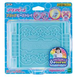 玩具 おもちゃ 室内遊具 知育玩具 エポック社 アクアビーズ フリップビーズトレイ