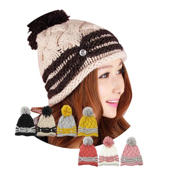 f793f7fa2b9b0e Loosely crochet Hat knit knit hat Island (I ' LAND) knit Cap snowboard ski  ...