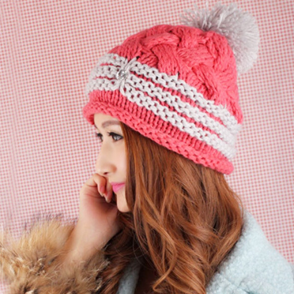 41a6506345efe4 ... Loosely crochet Hat knit knit hat Island (I ' LAND) knit Cap snowboard  ski ...