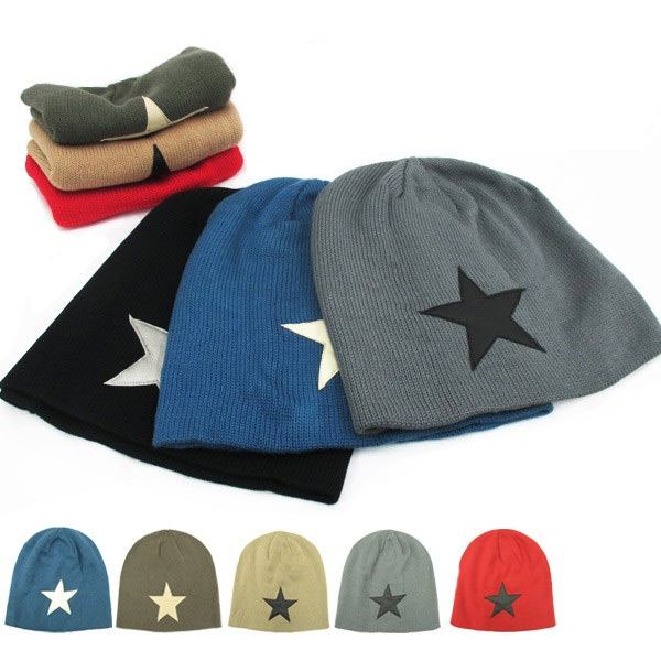0654e75a7a5a55 Island knit Cap (I ' LAND) knitted Hat knitted Hat Kamon Cap snowboard star  ...