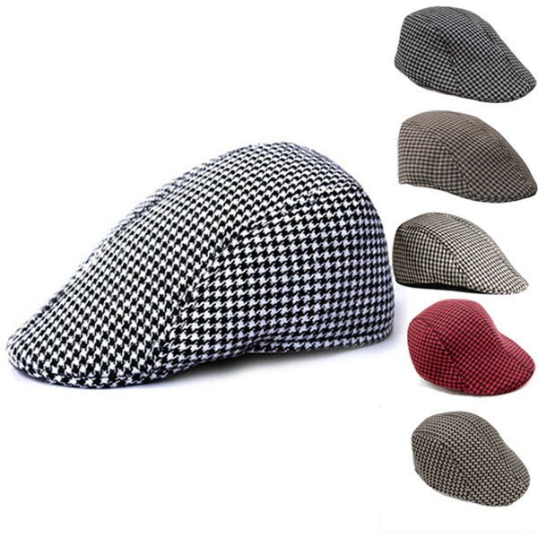 9413887fee Hat Cap men's hunting Hat hunting Cap Cap woven pattern hunting  organiccotton houndstooth check Men's mens Hat black grey khaki cotton  bousi hat ...