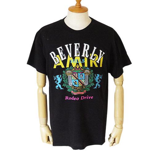 アミリ Tシャツ 半袖 メンズ MTSST ABH BLK コットン AMIRI BEVERLY HILLS TEE ブラック【2019年春夏新作】