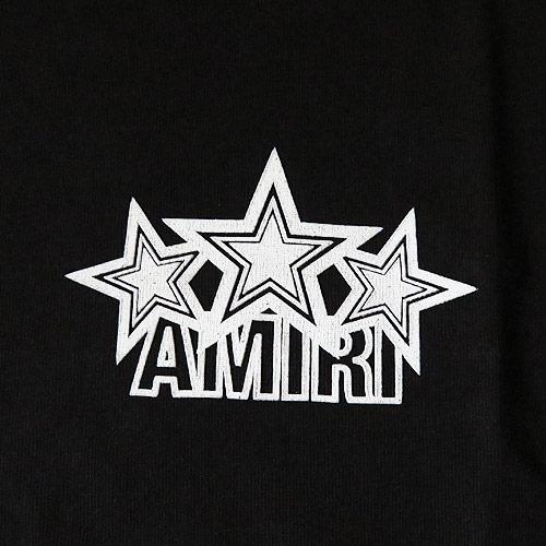 アミリ Tシャツ 半袖 メンズ MTSST AFS BLW コットン AMIRI FIVE STAR TEE ブラック【2019年春夏新作】