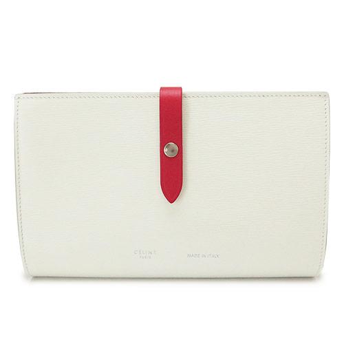 セリーヌ 長財布 レディース CELINE 財布 二つ折り レザー アイスバーグ 白 オフホワイト系 10487 3A2A 01IC/ICEBERG