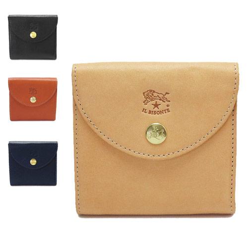 イルビゾンテ 折財布 IL BISONTE 二つ折り財布 レザー C1065 P