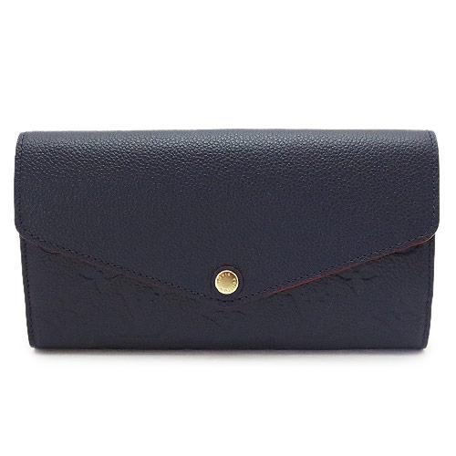 ルイヴィトン 長財布 M62125 レディース 財布 二つ折り LOUISVUITTON ポルトフォイユ・サラ モノグラム・アンプラント レザー